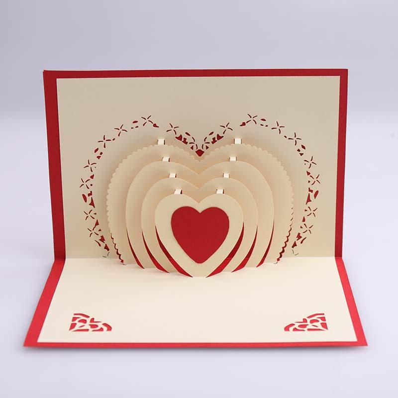 3d greeting card multi heart minc 3d greeting card multi heart m4hsunfo